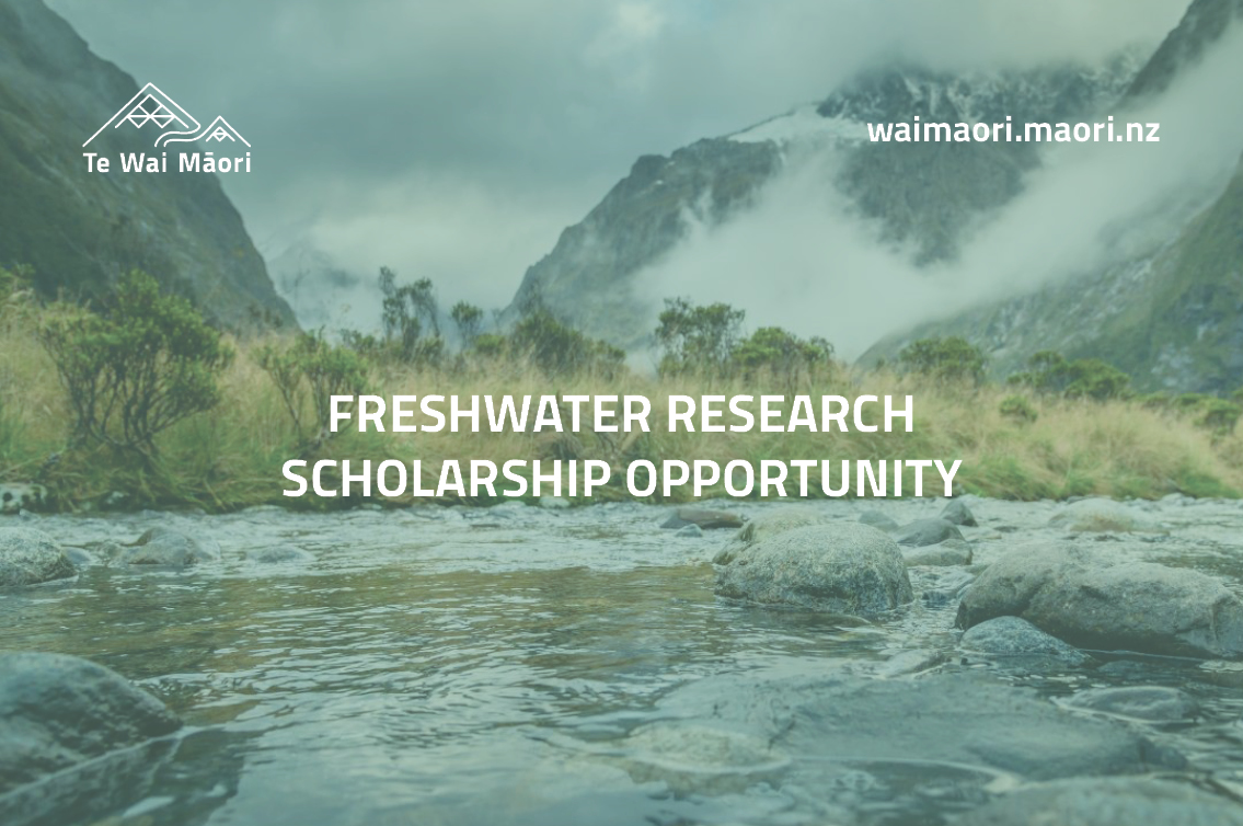 Freshwater research scholarship opportunity