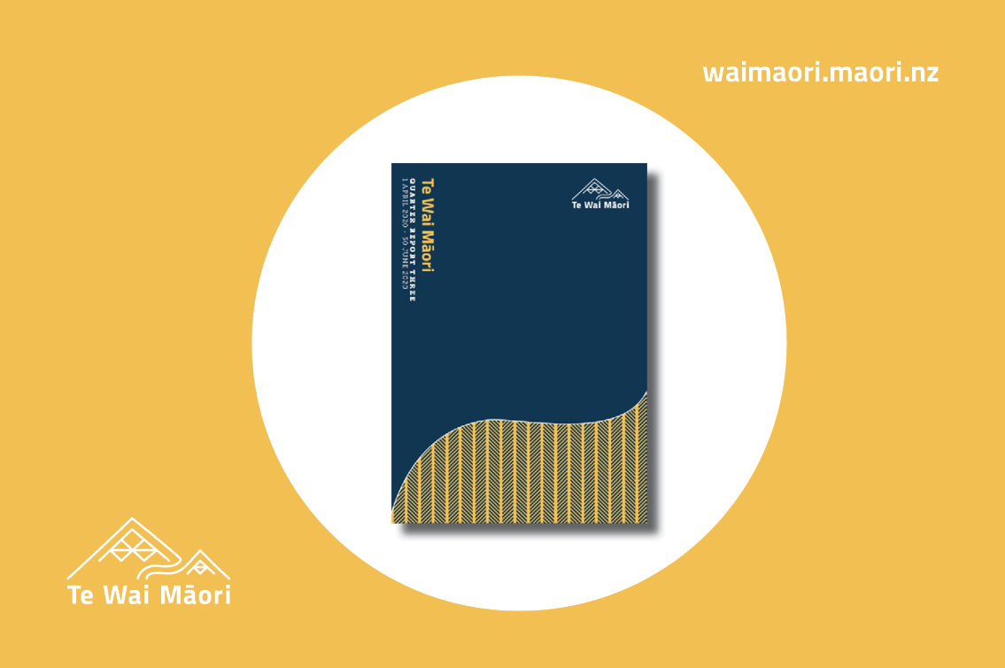 Te Wai Māori Third Quarter Report out now