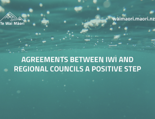 Agreements between iwi and regional councils a positive step