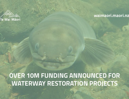 Over 10m funding announced for waterway restoration projects