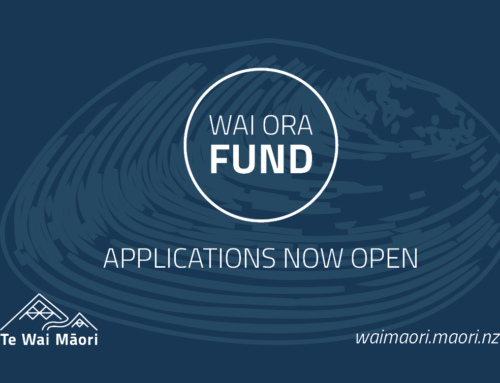 Wai Ora Fund Now Open for 2021
